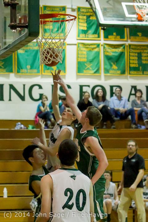 17562 Boys JV Basketball v CWA 01172014