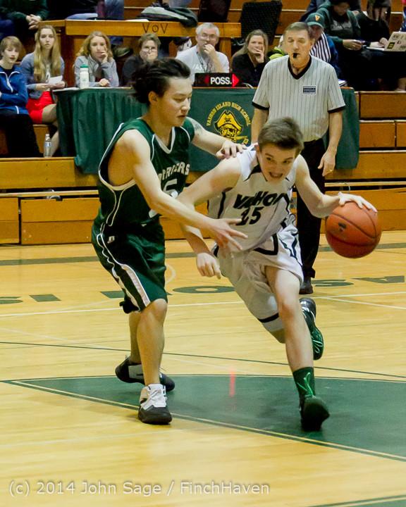 17646 Boys JV Basketball v CWA 01172014