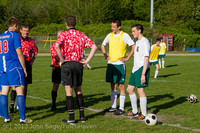 19399 Boys Soccer v Life-Chr Seniors Night 050113