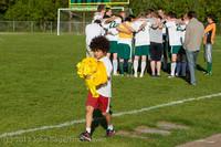 19409 Boys Soccer v Life-Chr Seniors Night 050113