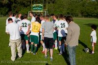 19445 Boys Soccer v Life-Chr Seniors Night 050113