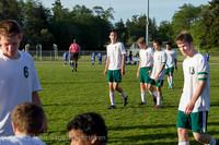 20188 Boys Soccer v Life-Chr Seniors Night 050113
