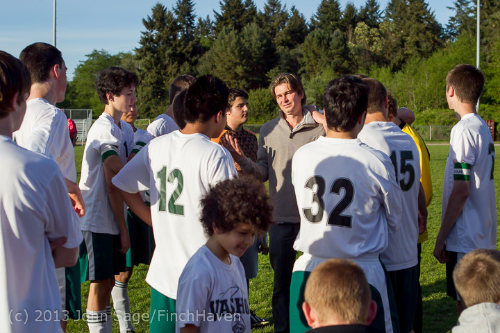 20198 Boys Soccer v Life-Chr Seniors Night 050113