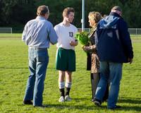 20254 Boys Soccer v Life-Chr Seniors Night 050113