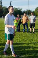 20274 Boys Soccer v Life-Chr Seniors Night 050113