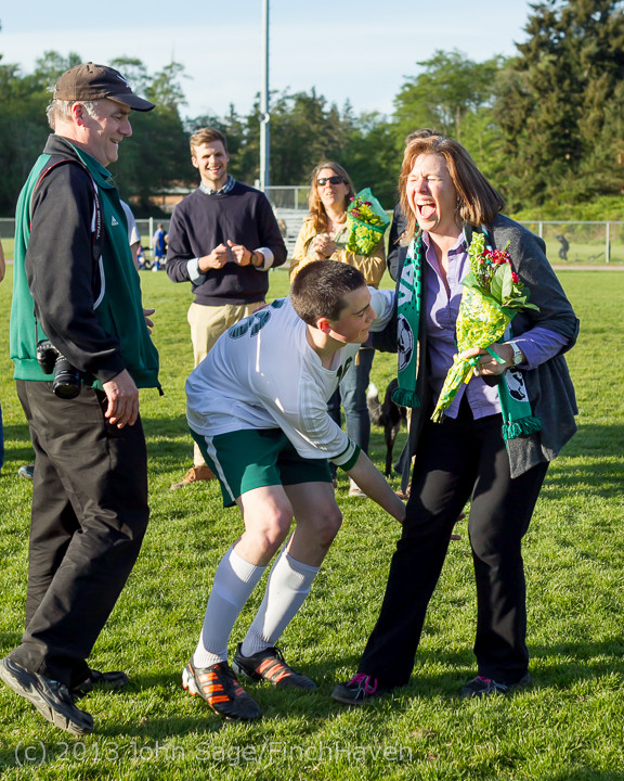 20279 Boys Soccer v Life-Chr Seniors Night 050113