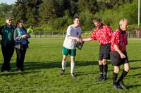 20327 Boys Soccer v Life-Chr Seniors Night 050113