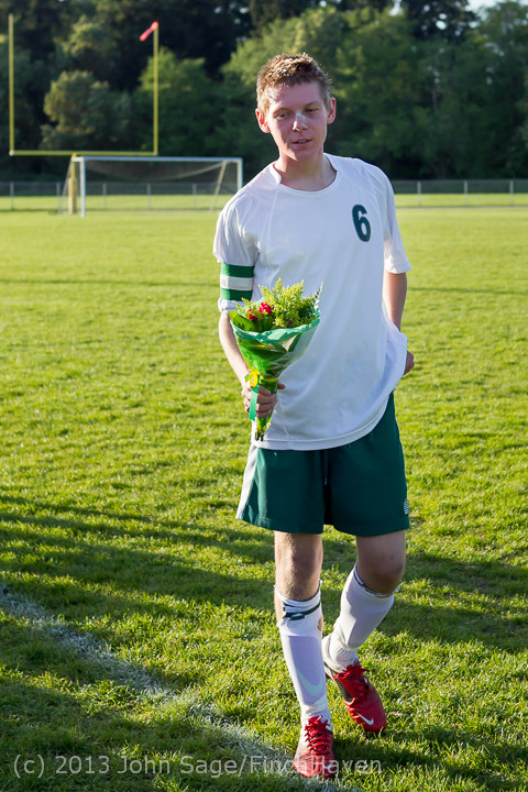 20333 Boys Soccer v Life-Chr Seniors Night 050113
