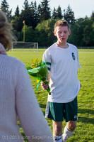20335 Boys Soccer v Life-Chr Seniors Night 050113