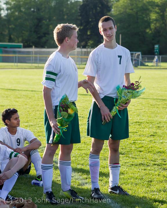 20341 Boys Soccer v Life-Chr Seniors Night 050113