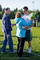 20355 Boys Soccer v Life-Chr Seniors Night 050113