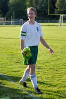 20361 Boys Soccer v Life-Chr Seniors Night 050113