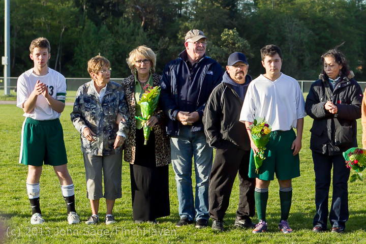 20394 Boys Soccer v Life-Chr Seniors Night 050113