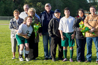 20400 Boys Soccer v Life-Chr Seniors Night 050113