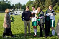 20424 Boys Soccer v Life-Chr Seniors Night 050113