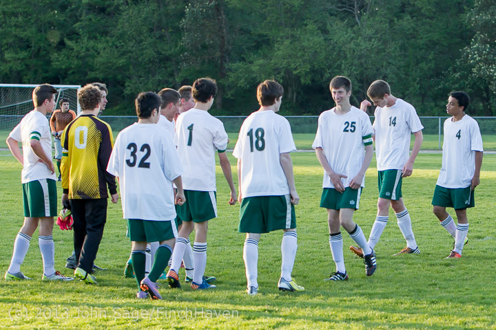 21211 Boys Soccer v Life-Chr Seniors Night 050113