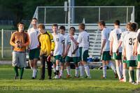 21219 Boys Soccer v Life-Chr Seniors Night 050113