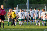 21223 Boys Soccer v Life-Chr Seniors Night 050113