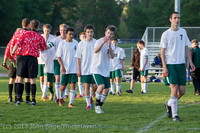 21249 Boys Soccer v Life-Chr Seniors Night 050113