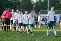 21252 Boys Soccer v Life-Chr Seniors Night 050113