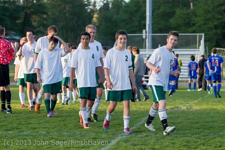 21257 Boys Soccer v Life-Chr Seniors Night 050113