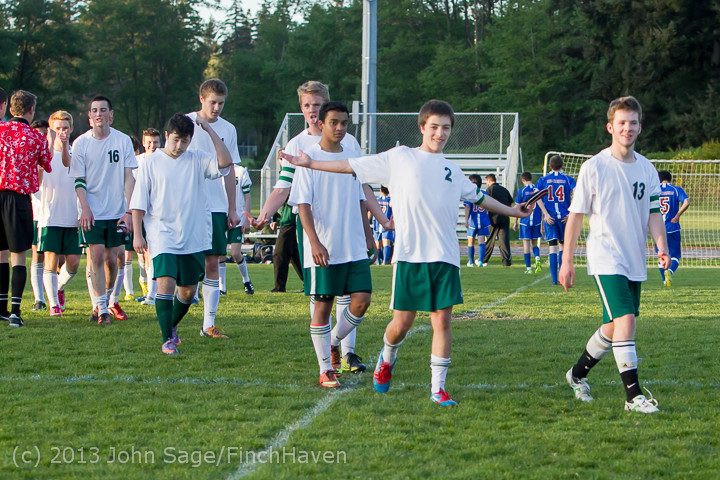21260 Boys Soccer v Life-Chr Seniors Night 050113