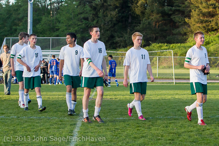 21275 Boys Soccer v Life-Chr Seniors Night 050113