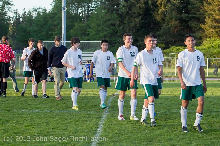 21282 Boys Soccer v Life-Chr Seniors Night 050113