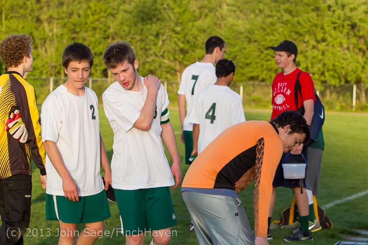 21287 Boys Soccer v Life-Chr Seniors Night 050113
