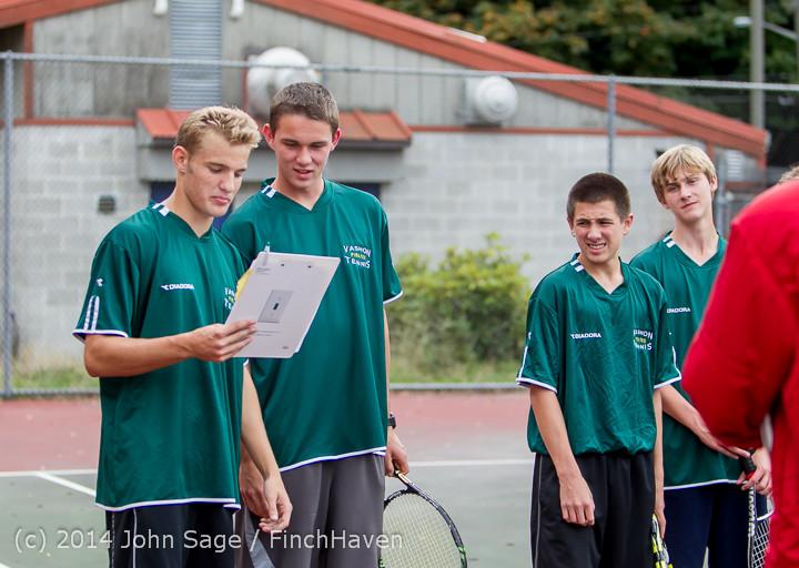 4129 Boys Tennis v CWA 101414