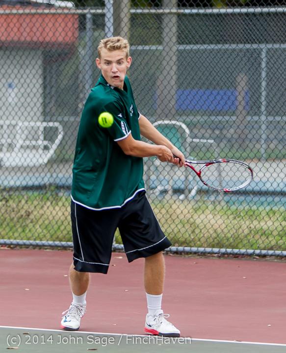 4162 Boys Tennis v CWA 101414