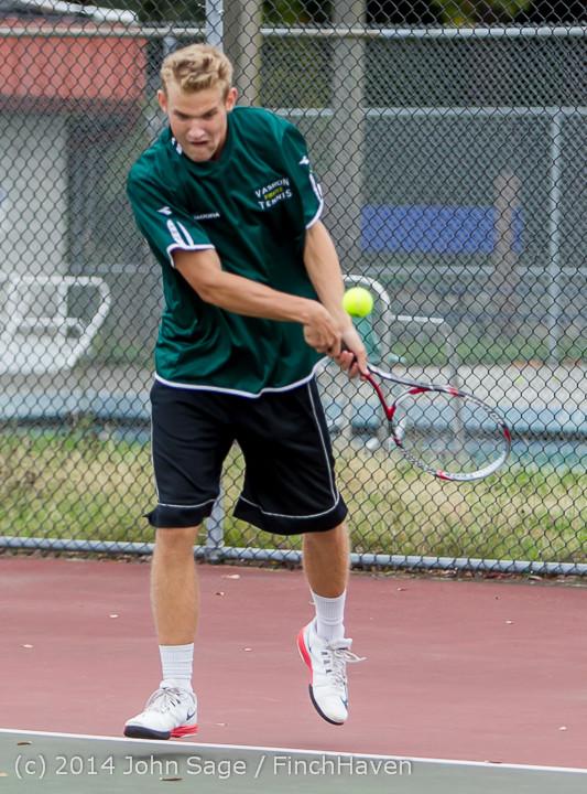 4163 Boys Tennis v CWA 101414