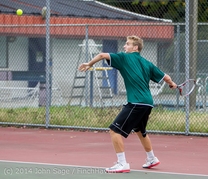 4166 Boys Tennis v CWA 101414