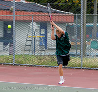 4190 Boys Tennis v CWA 101414