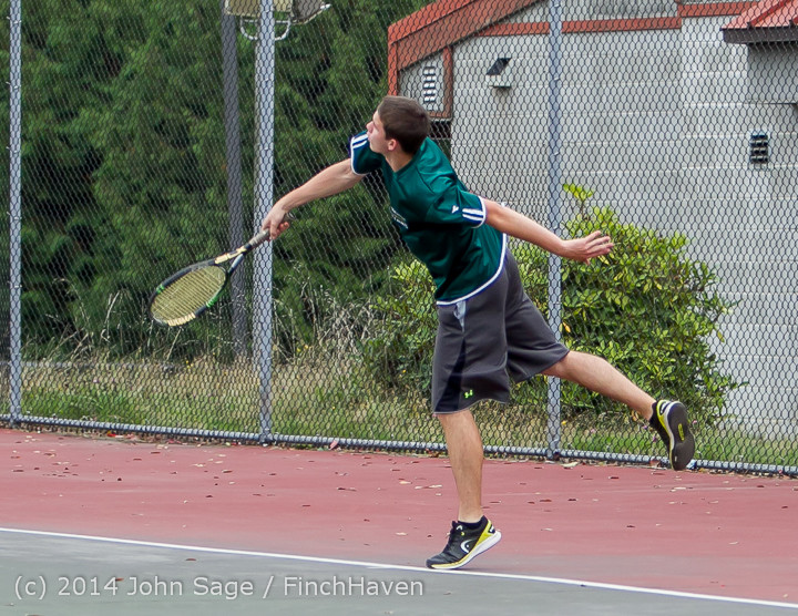 4235 Boys Tennis v CWA 101414