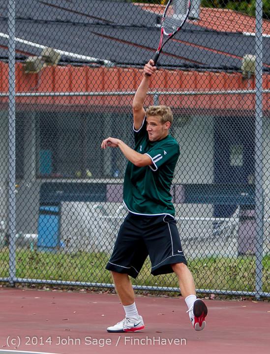 4250 Boys Tennis v CWA 101414