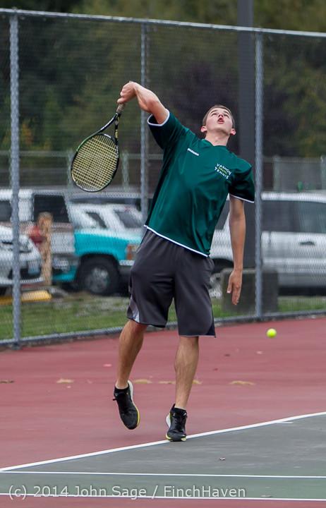 4316 Boys Tennis v CWA 101414