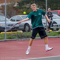 4325 Boys Tennis v CWA 101414