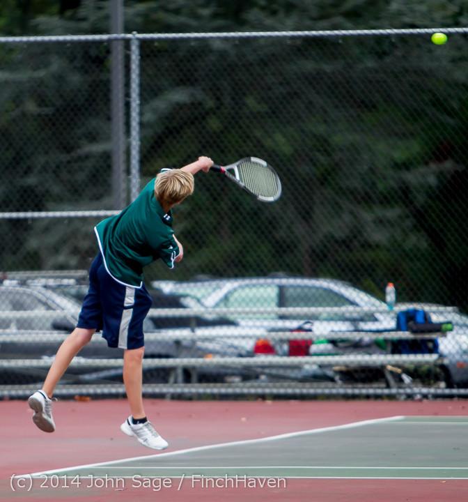 4375 Boys Tennis v CWA 101414