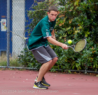 4393 Boys Tennis v CWA 101414