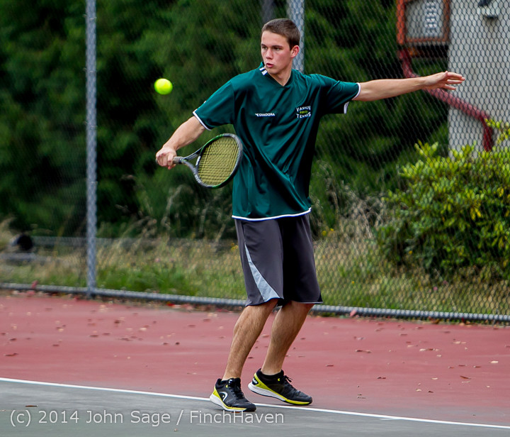 4416 Boys Tennis v CWA 101414