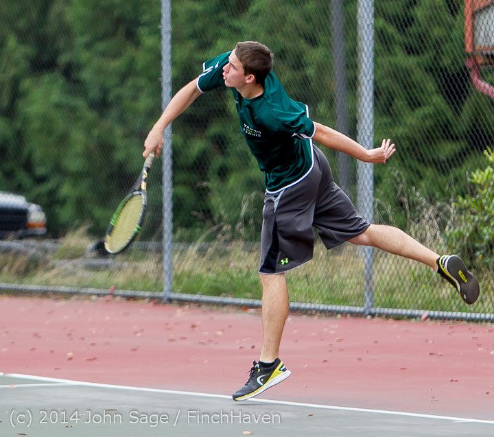 4441 Boys Tennis v CWA 101414
