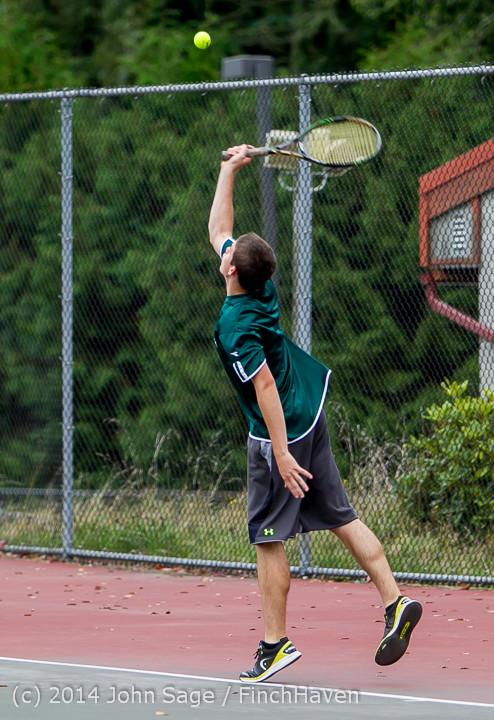 4444 Boys Tennis v CWA 101414