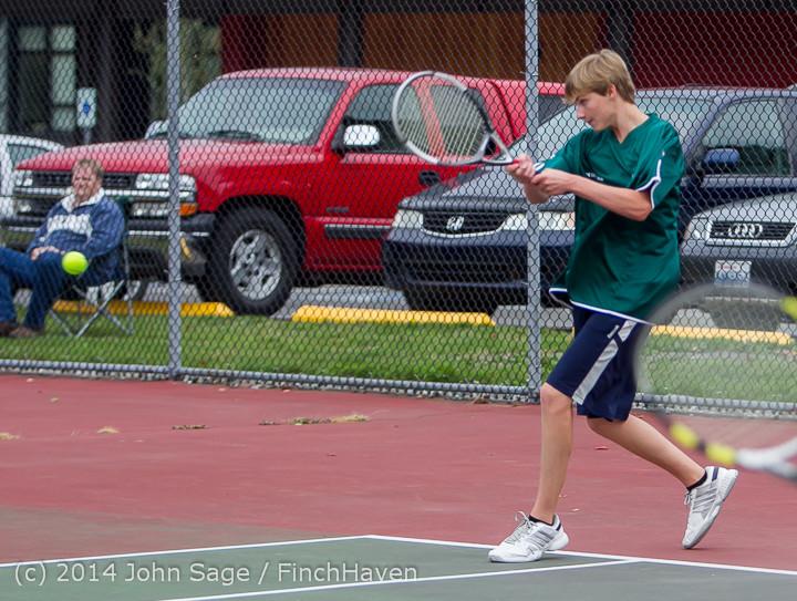 4525 Boys Tennis v CWA 101414