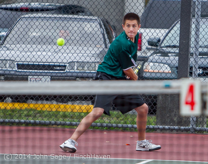 4601 Boys Tennis v CWA 101414