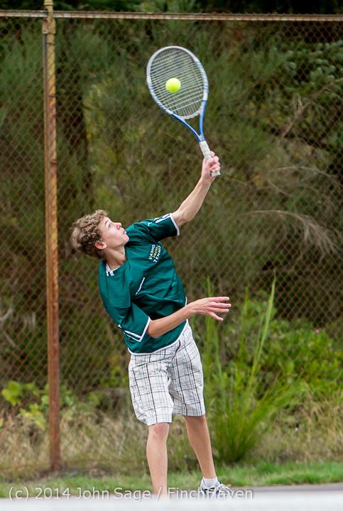 4650 Boys Tennis v CWA 101414