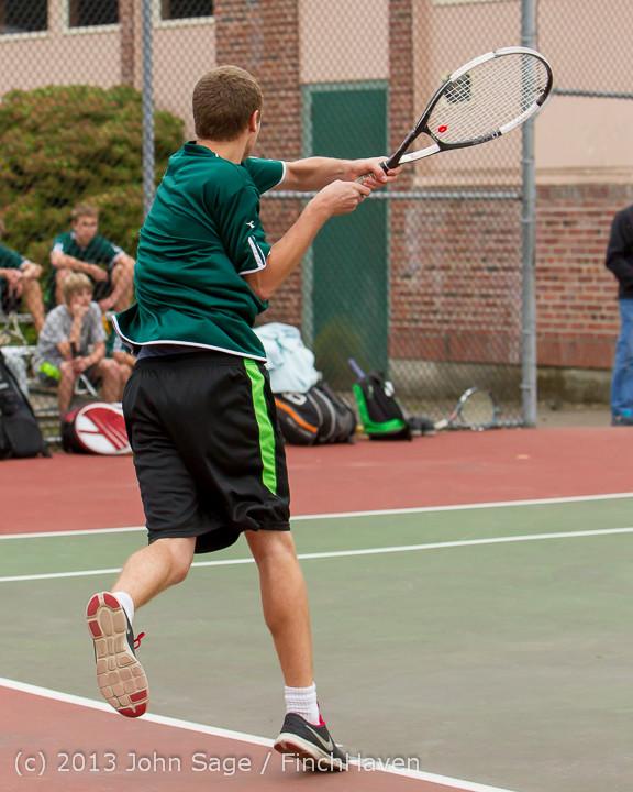 5518 Boys Tennis v CWA 101613