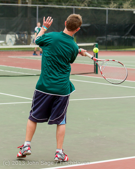 5530 Boys Tennis v CWA 101613