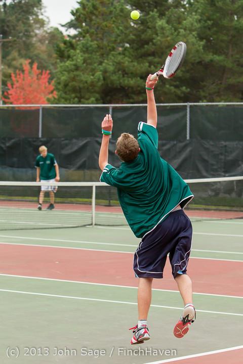 5607 Boys Tennis v CWA 101613