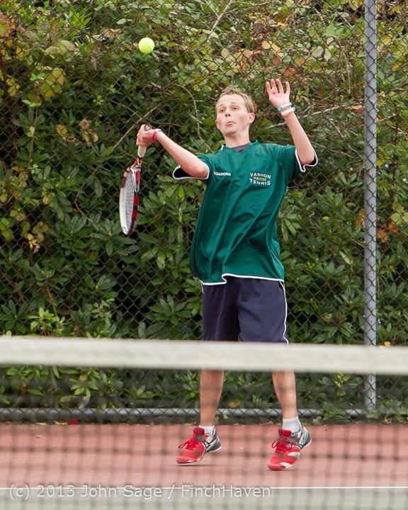 5724 Boys Tennis v CWA 101613
